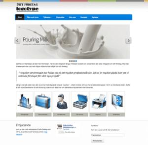 köpa hemsida responsive webdesign